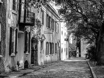 Historic Gillon Street, Charleston, SC. Royalty Free Stock Photos