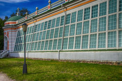 Historic glasshouse Royalty Free Stock Photo