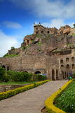 Historic Golconda fort Royalty Free Stock Photography