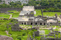 Historic Golconda fort in Hyderabad Royalty Free Stock Photography