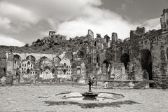 Historic Golconda fort Stock Photos