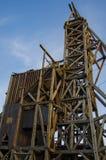 Historic Gold Mine in Victor Colorado stock image