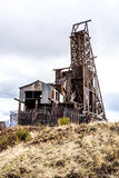 Historic gold mine in victor colorado Stock Images