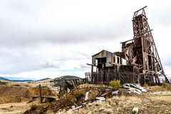 Historic gold mine in victor colorado Royalty Free Stock Photo