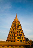 Historic golden pagoda Stock Images