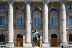 The historic government Staatskanzlei Munich Royalty Free Stock Image