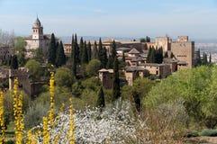 Historic Granada Spain Country Stock Photo