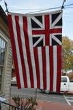 Historic Grand Union Flag Royalty Free Stock Photo