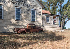Historic Grange Hall, rural California Royalty Free Stock Photo