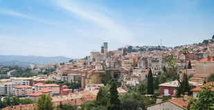 Historic grasse skyline cote dazur france royalty free stock photo