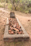 Historic grave below the Waterberg Plateau Royalty Free Stock Photos