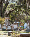 Historic graveyard royalty free stock photos