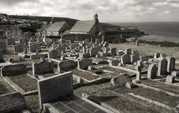 Historic graveyard Stock Image