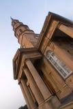 Historic greek revival church. In charleston, south carolina stock photography