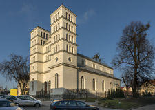 Historic Greek wooden church in Lidzbark Warminski Royalty Free Stock Images