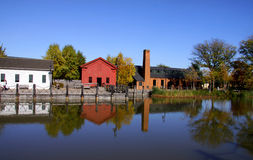 Historic Greenfield village royalty free stock image