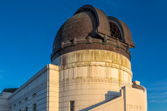 Historic Griffith Observatory Royalty Free Stock Photos