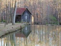 Historic Grist Mill - Georgia Royalty Free Stock Photos