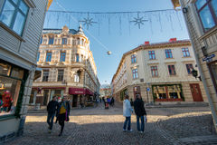 Historic Haga in Gothenburg, Sweden Stock Photos