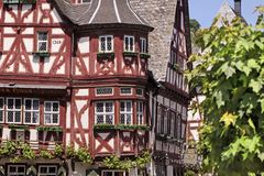 Historic half-timbered house Stock Photos
