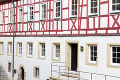 Historic Half-timbered house in Germany Stock Photos
