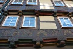 Historic half-timbered house Stock Photos