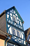 Historic half timbered houses in Eltville Stock Image