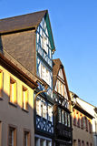 Historic half-timbered houses in Eltville Royalty Free Stock Photos