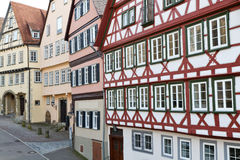 Historic half-timbered houses, Germany Royalty Free Stock Photos