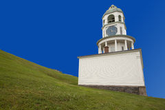 Historic Halifax town clock on Citadel Hill Royalty Free Stock Photos