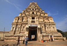 Historic Hampi Virupaksha Temple in India Royalty Free Stock Photos