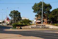 Historic Hannan Street. Kalgoorlie - Australia Stock Photography