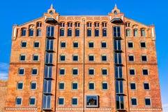 Historic harbor warehouse in Wismar Royalty Free Stock Photo