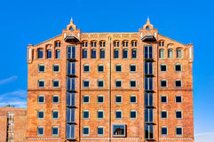 Historic harbor warehouse in Wismar Royalty Free Stock Photography