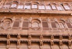 Historic Haveli facade. In jaisalmer,rajasthan Royalty Free Stock Image