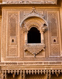 Historic Haveli facade Royalty Free Stock Photos