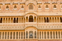 Historic Haveli facade Stock Image