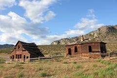 Historic Haynes Ranch Buildings, Osoyoos, BC. Royalty Free Stock Photography