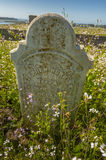 Historic Headstone of Moss Landing Founders Royalty Free Stock Image