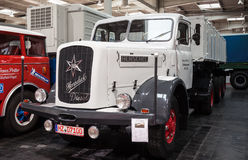 Historic Henschel truck HS 140 AS from 1955 Royalty Free Stock Photos