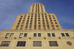 The historic Hilton Netherland Plaza Hotel in the Carew Tower, Cincinnati. CINCINNATI, OH - The historic Hilton Netherland Plaza Hotel is located in the landmark Royalty Free Stock Photo