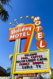 Historic Holiday Motel Sign Stock Images