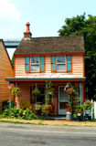 Historic Home. In Chesapeake City, Maryland, on a sunny day Stock Images