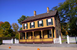 Historic home stock photography