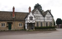Historic Home. Historic house in country village UK stock photo