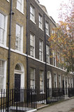 Historic Home of author Sydney Smith. The author and well known wit Sydney Smith (1771 - 1845) lived in this Georgian townhouse in Bloomsbury, London Stock Photography