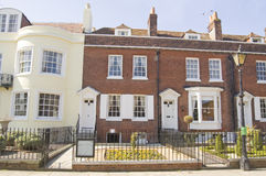 Historic Home of Charles Dickens. Historic house in Portsmouth, Hampshire where the novelist Charles Dickens was born (1812 - 1870). Now a museum dedicated to Royalty Free Stock Photography