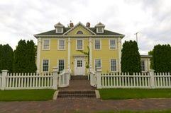 Historic Home in Minnehaha Park Royalty Free Stock Photos