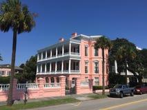 Historic Homes on East Bay St, Charleston, SC. Stock Photo