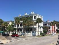 Historic Homes on East Bay St, Charleston, SC. Stock Image
